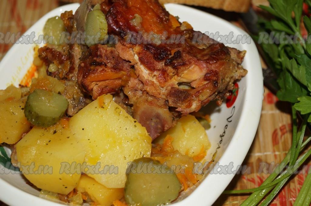 Рецепт куриного жульена в духовке