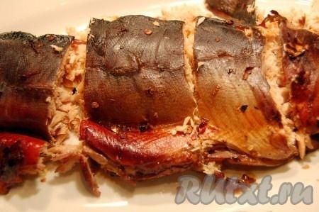 рецепт запеченной стерляди в фольге в духовке