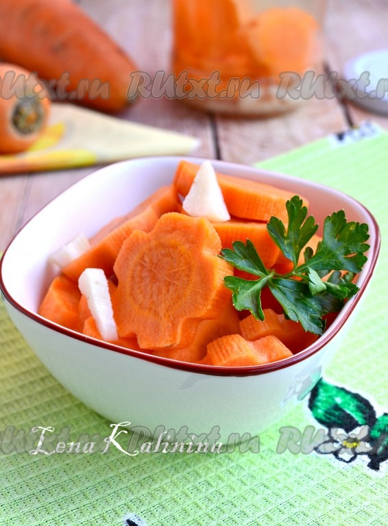 маринованная морковь быстрого приготовления рецепт