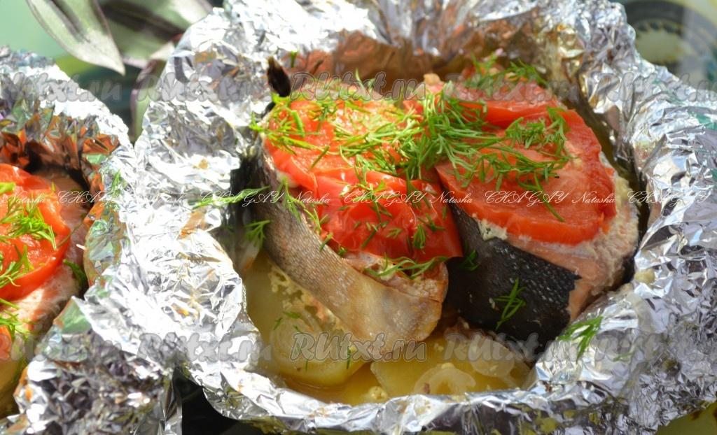 горбуша на второе рецепты с фото
