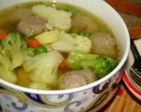 рецепт супа овощного с чечевицей
