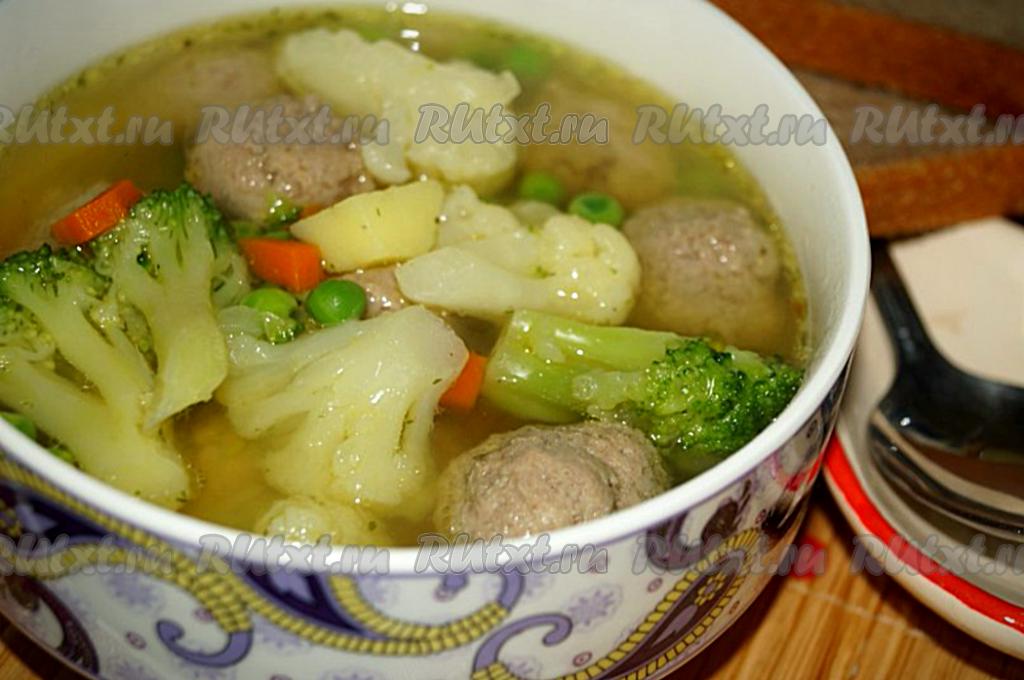 рецепты овощного супа