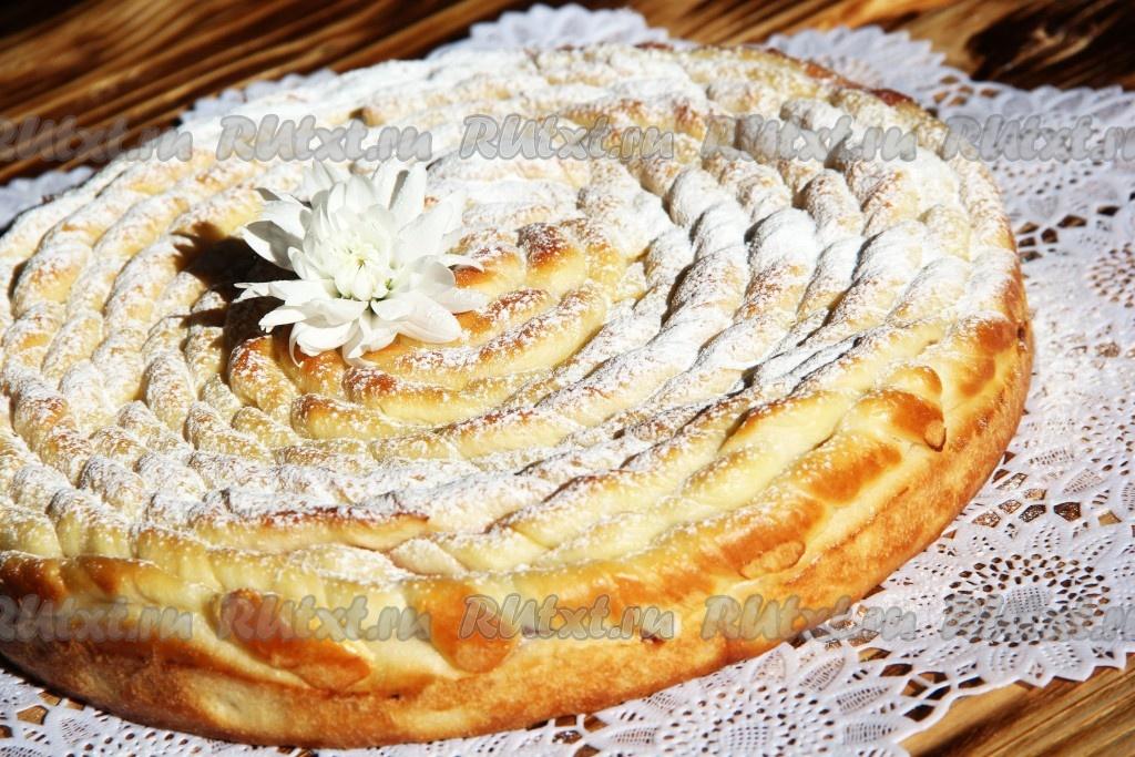 дрожжевой мясной пирог в духовке рецепт