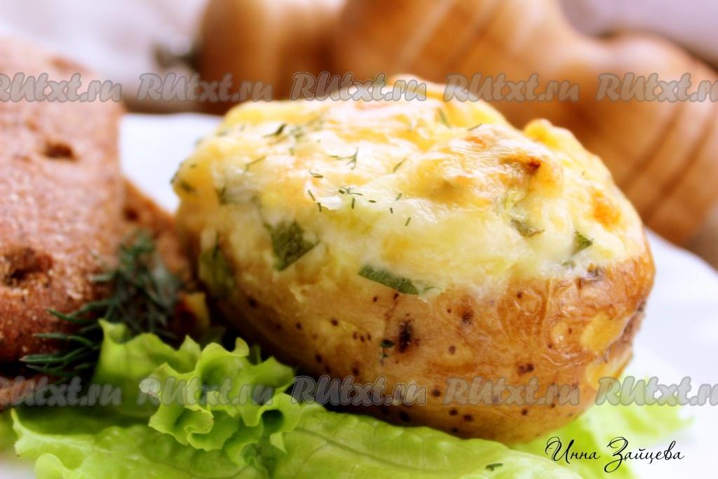 запеченный картофель в кефире