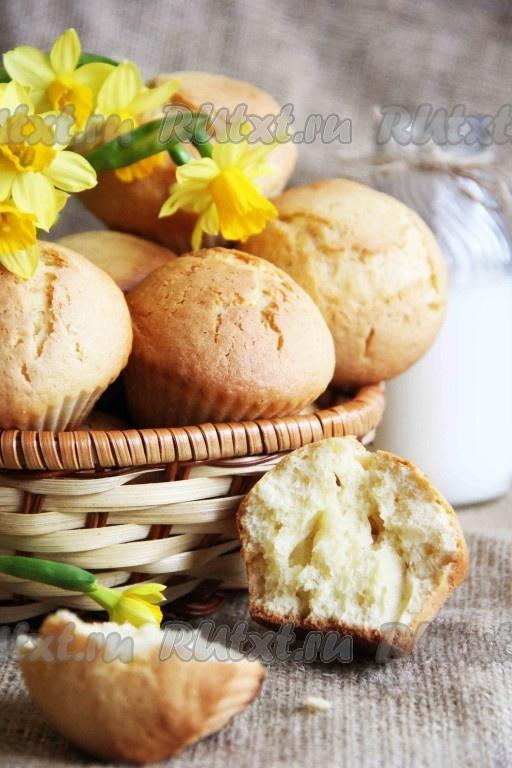 рецепты приготовления кексов в формочках