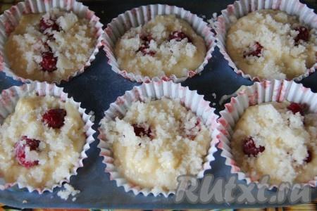 Кексы на кефире в бумажных формочках рецепты