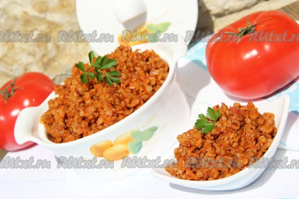 вкусная гречка на гарнир рецепт с фото