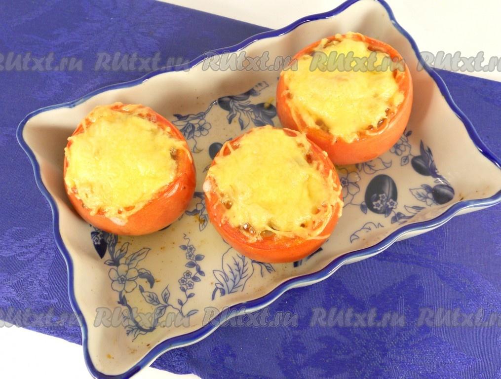 Фаршированные помидоры в духовке с курицей рецепт 112