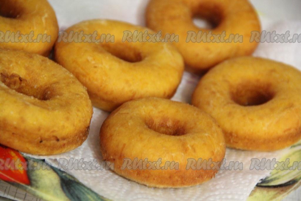 Тыквенные пончики в духовке 7