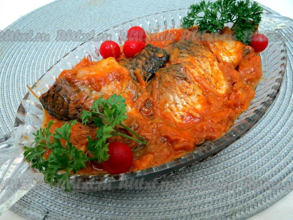 Рецепты блюд из карасей