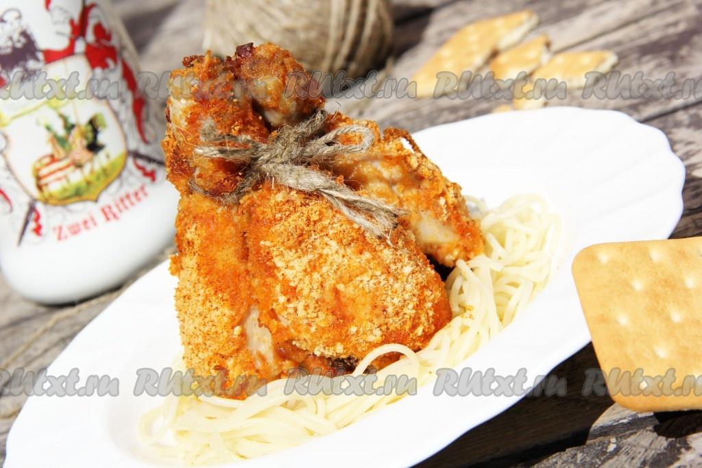 мясо в панировке в духовке рецепт с фото