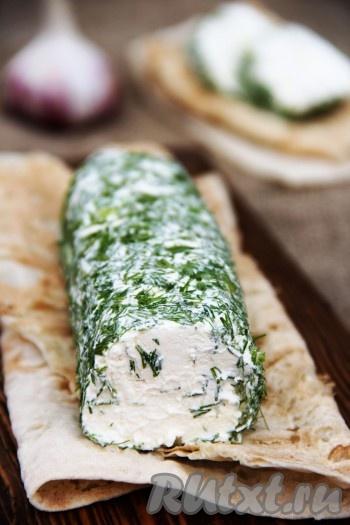 Домашний сыр из кефира с укропом - рецепт пошаговый с фото