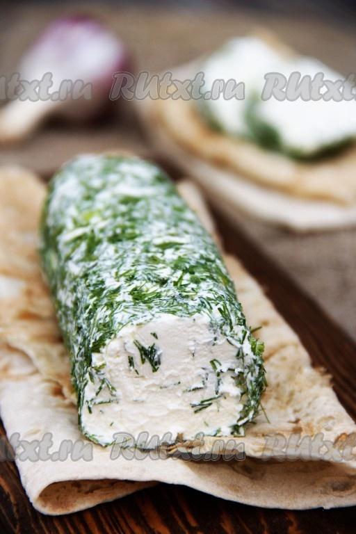 Как приготовить творожный сыр с зеленью в домашних условиях 14