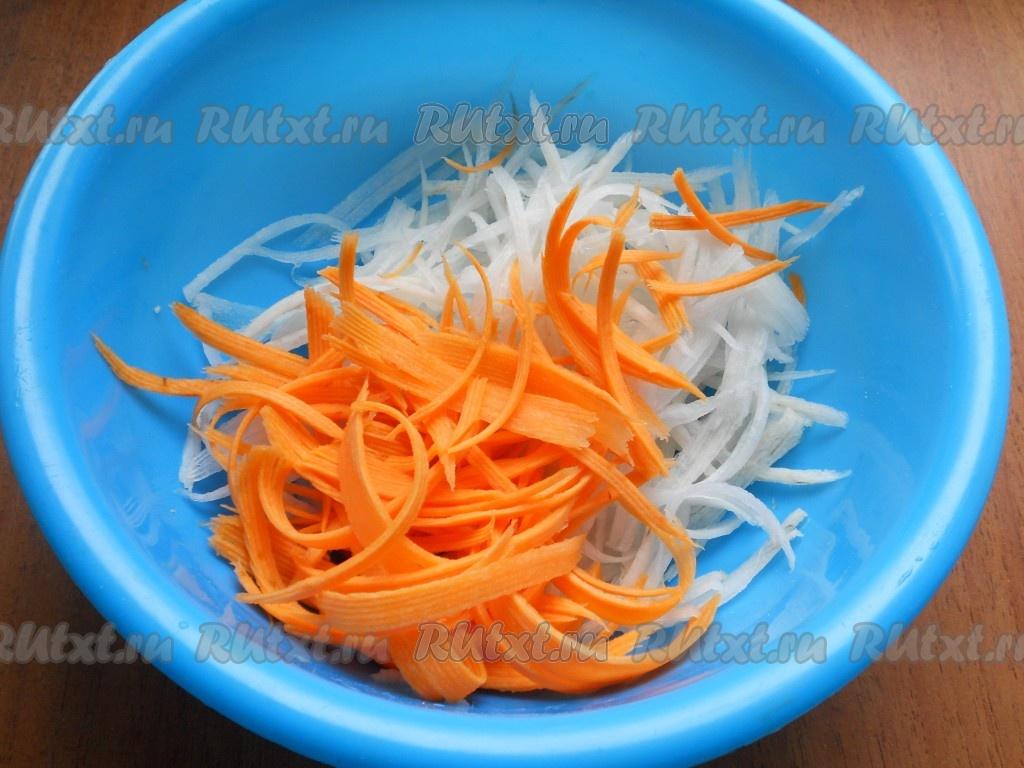 Салат с редькой дайкон, морковью и огурцом рекомендации