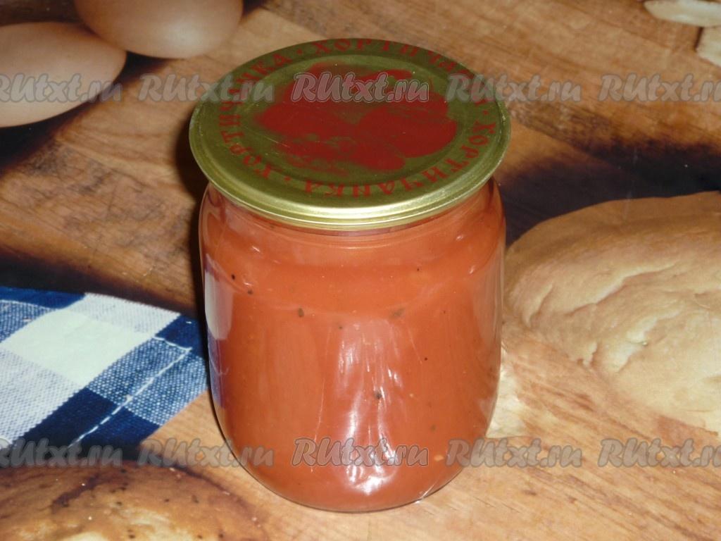 Кетчуп в домашних условиях на зиму вкусный рецепт 470