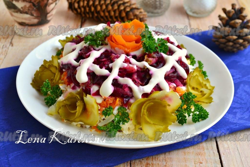 салат огурцы с мясом