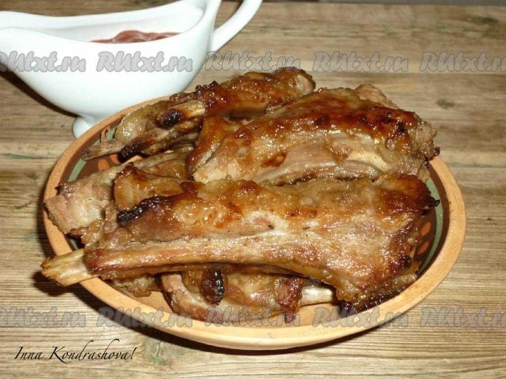 свинина с соевым соусом рецепты в духовке с