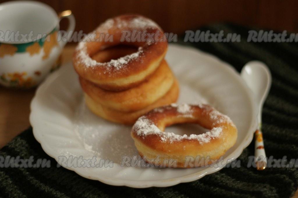 Пончики воздушные рецепт фото воде