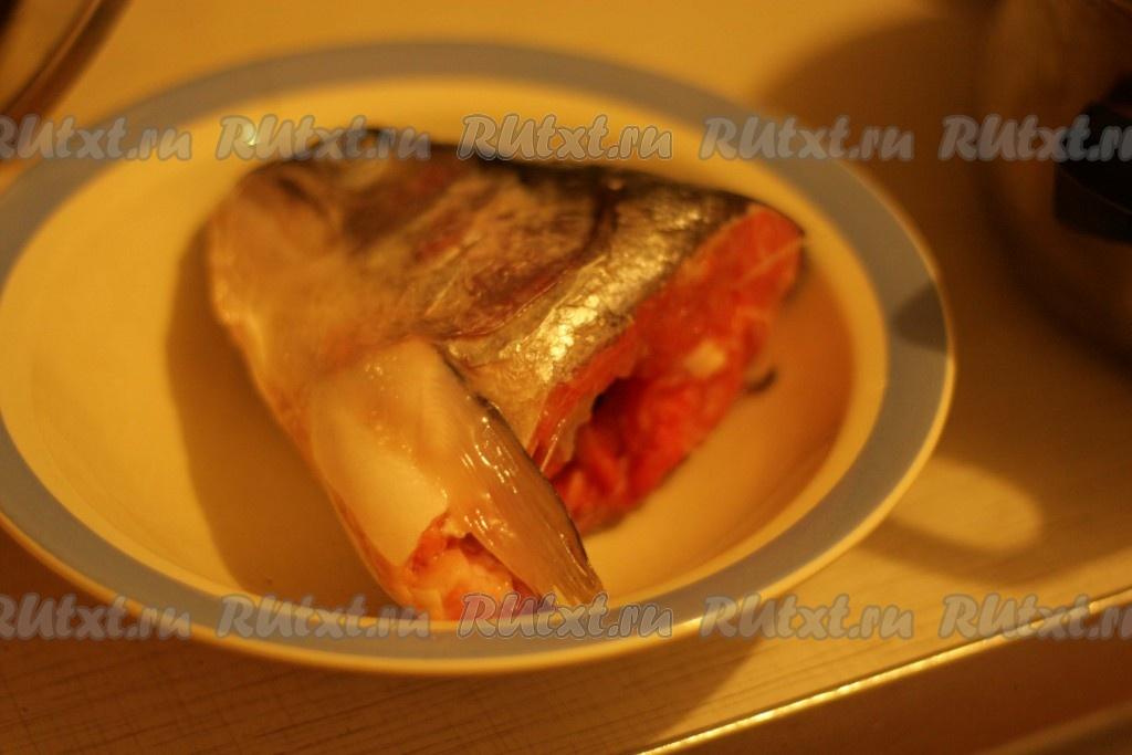 Суп из головы лосося рецепт с фото