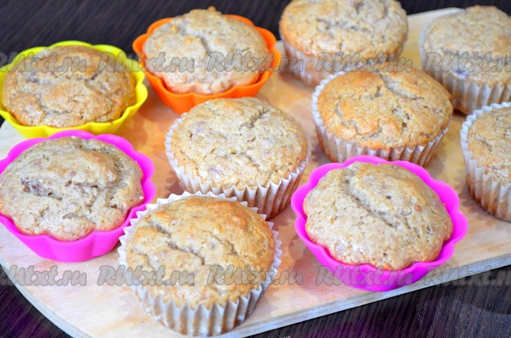 рецепты кексов в духовке с начинкой