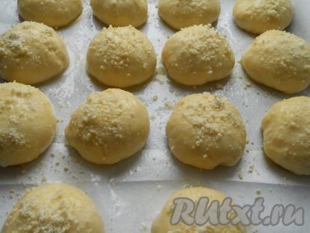 Булочки с вареньем из дрожжевого теста в духовке рецепт с фото