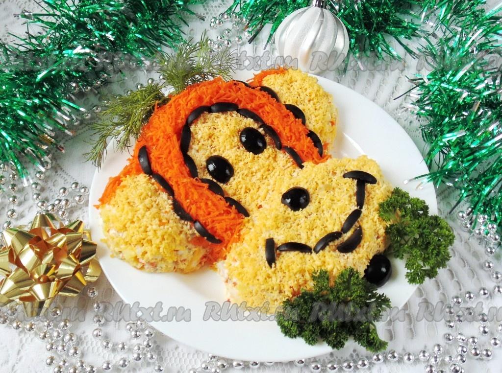 Обезьяна блюдо новый год — pic 9