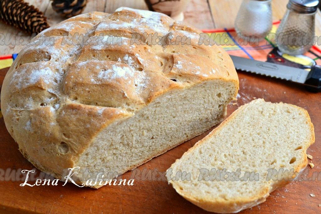 Дрожжевой хлеб в духовке