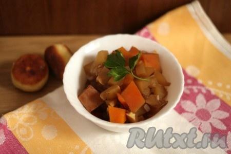 Овощное рагу с курицей, рецепты с фото на RussianFood.com ...