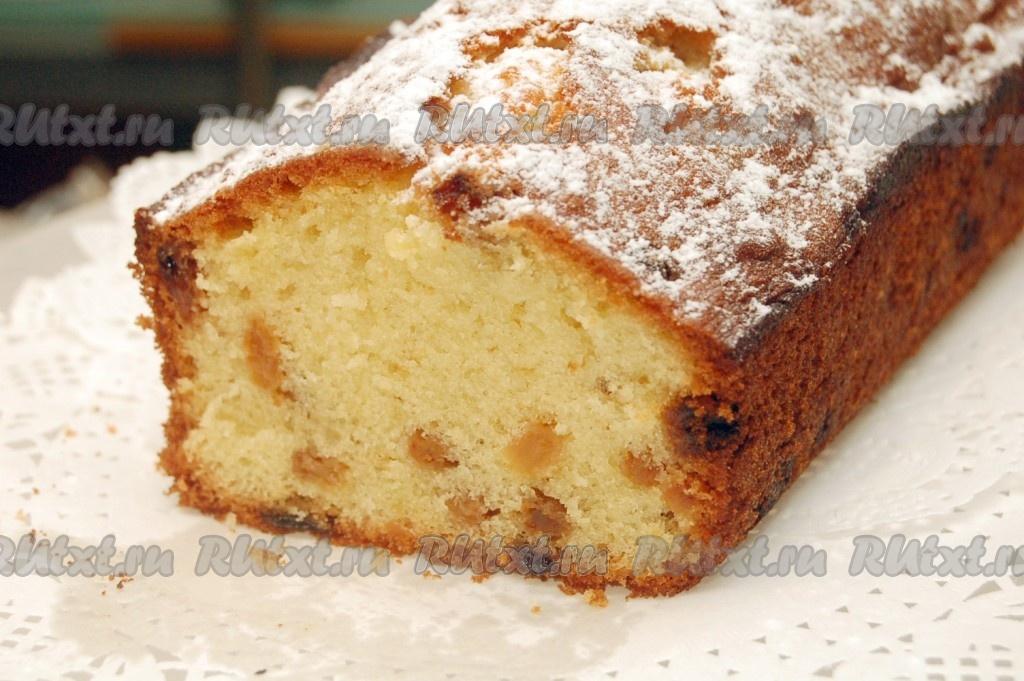 Рецепт столичного кекса