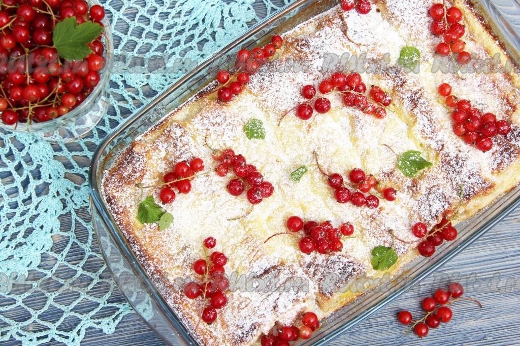 Кекс с творогом в духовке рецепт с фото