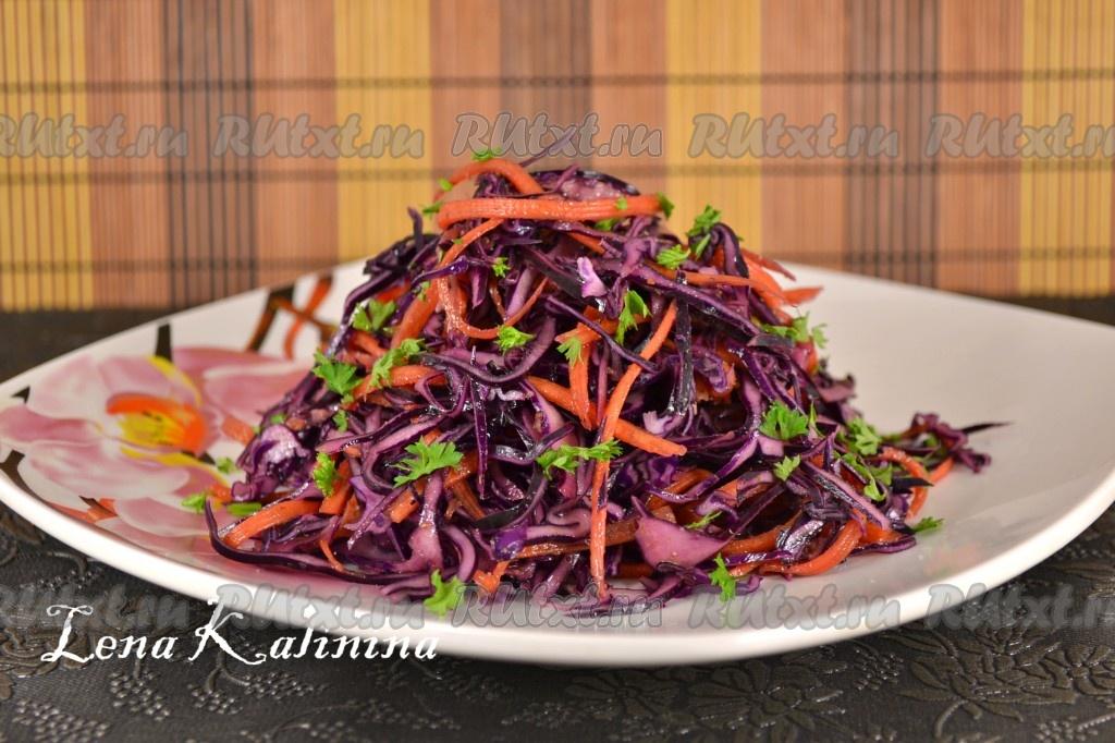 Блюда из краснокочанной капусты рецепты простые и вкусные 63