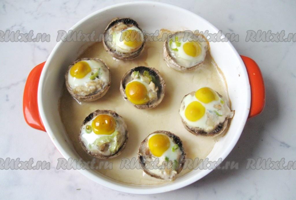 Яйцо в фарше в духовке рецепт с пошагово
