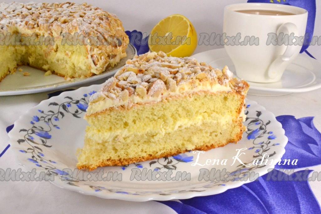 Торт подарочный по госту рецепт с фото