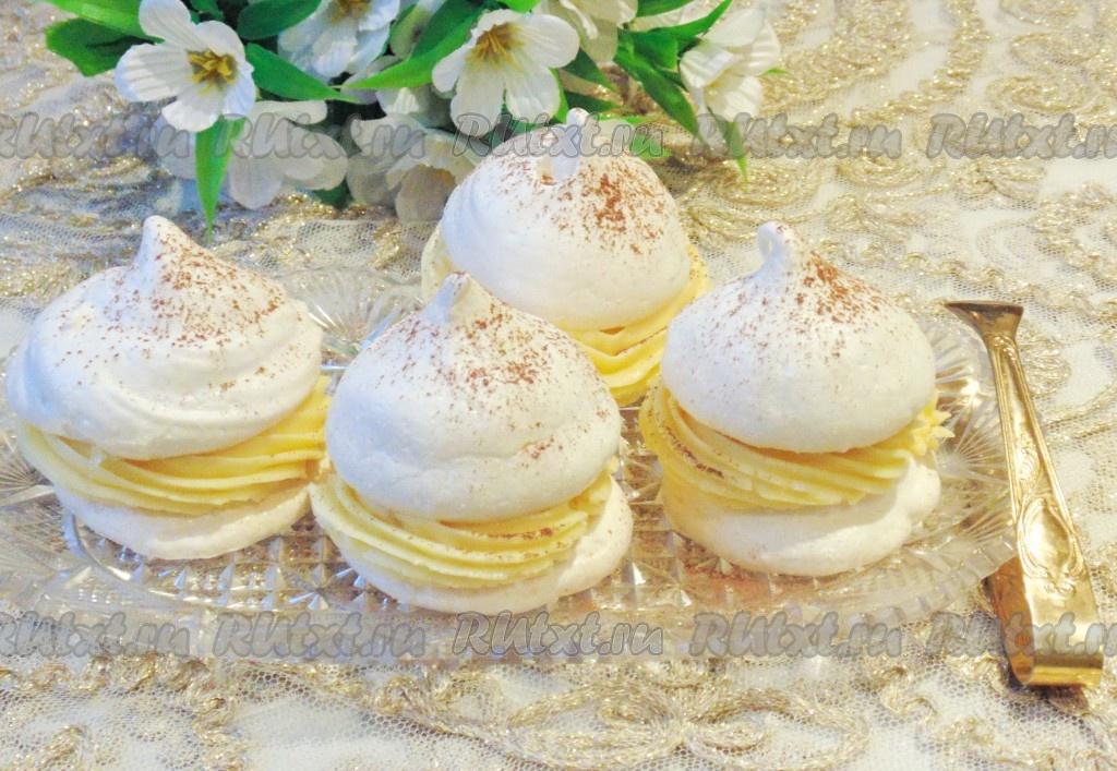 пирожные с безе рецепт