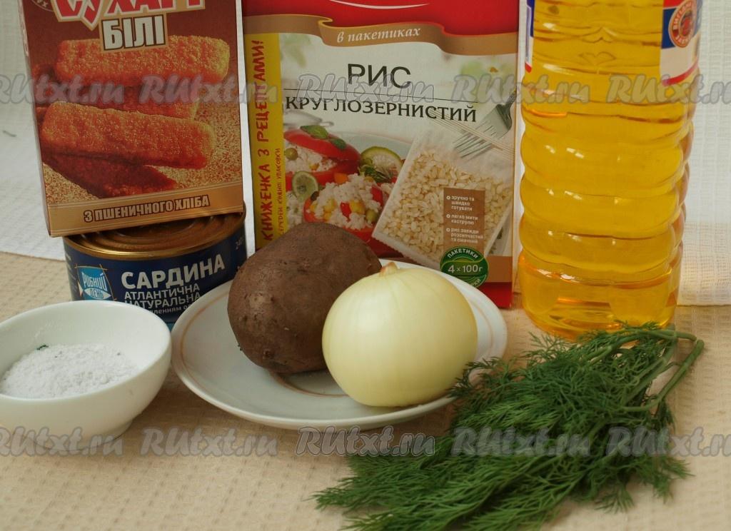 соус для рыбных котлет с рисом рецепт
