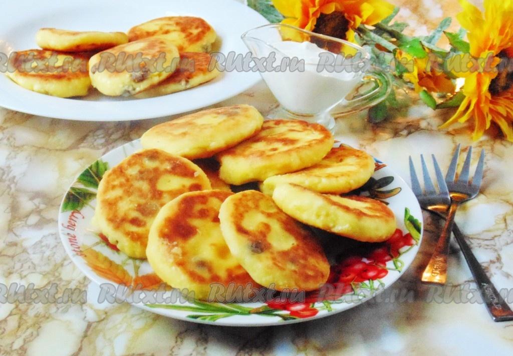 вкусный рецепт сырников из творога с медом