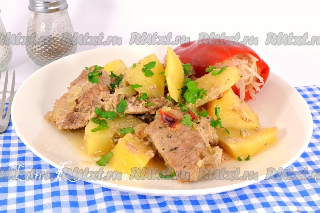 солянка со свининой в духовке рецепт с фото