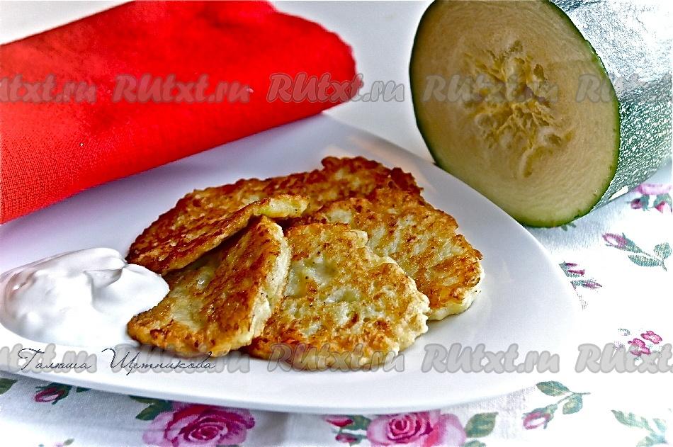 рецепты драников из картофеля и кабачков