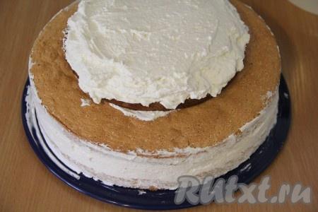 Трехъярусный торт в домашних условиях