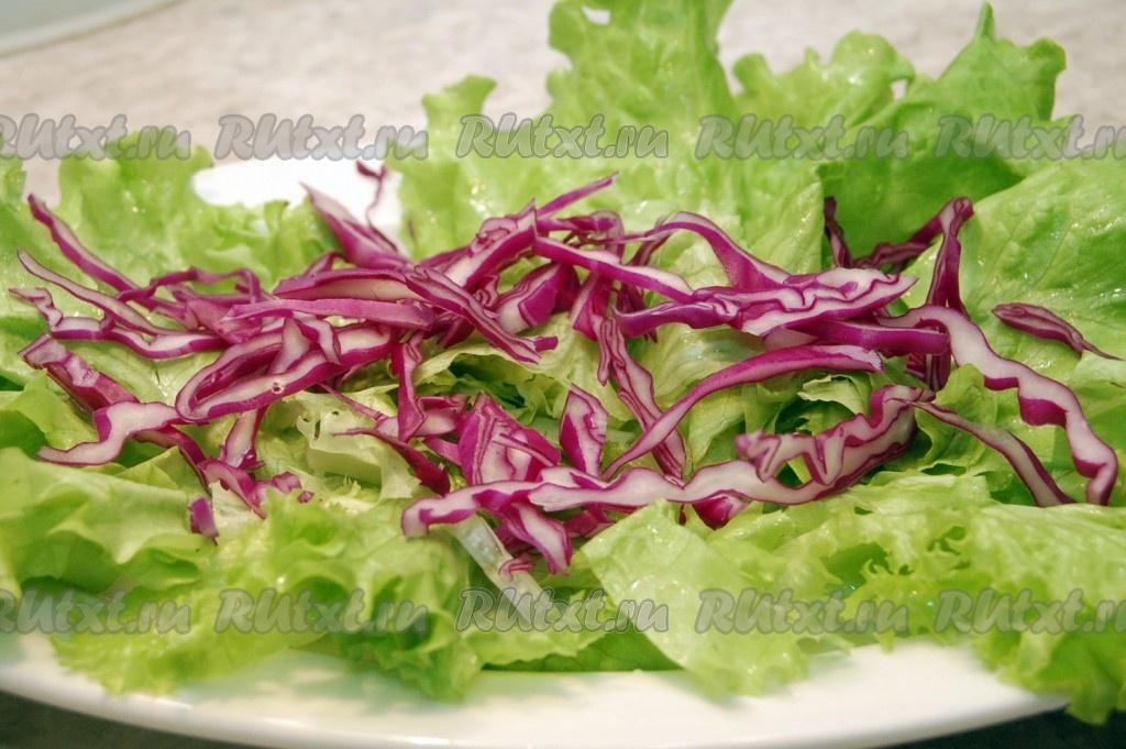 Рецепт салата с креветками и авокадо