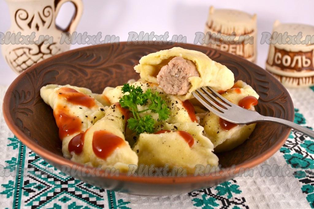 рецепт колдунов с мясом