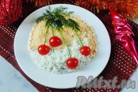 Простой салат с сардинами рецепт с
