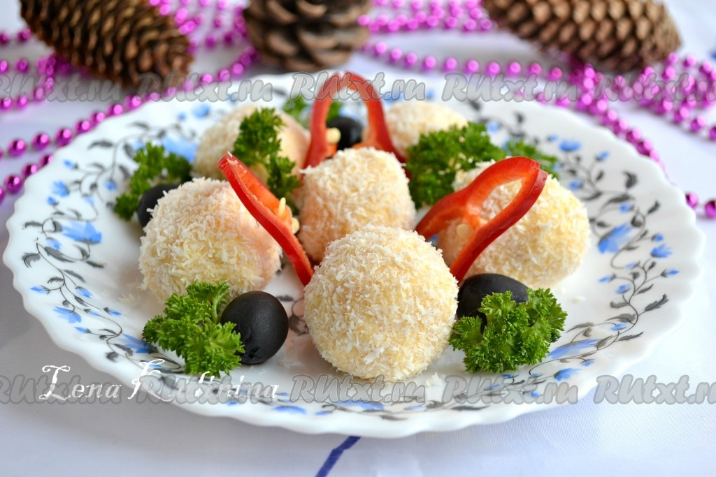 рецепт приготовления сырных рафаэлок