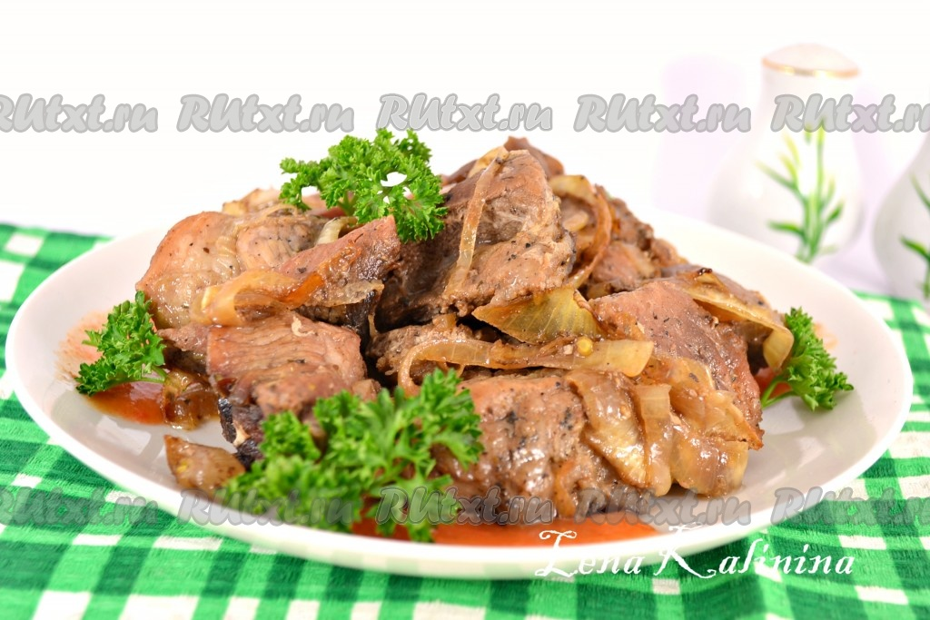 Рецепты вторых блюд русской кухни с фото