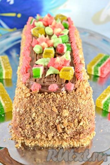 торт сказка видео рецепт по госту
