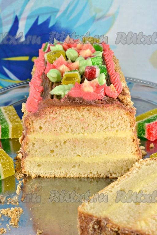 Торт сказка рецепт пошагово от селезнева