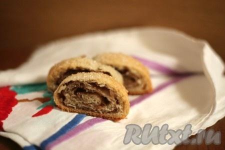 рецепт дрожжевого теста на рулет с орехами