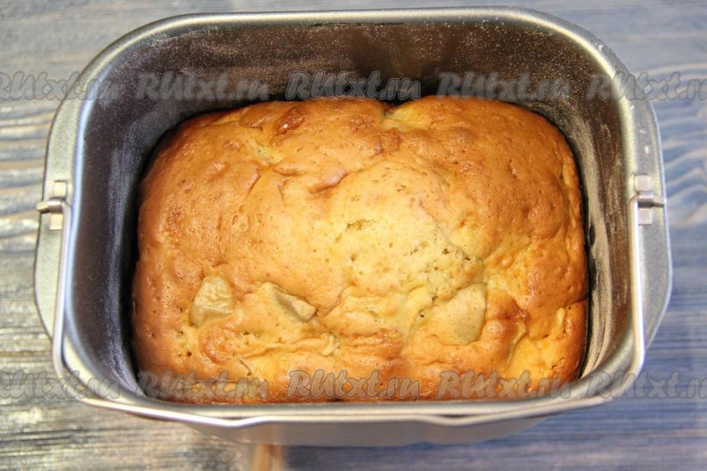 Яблочный пирог в хлебопечке