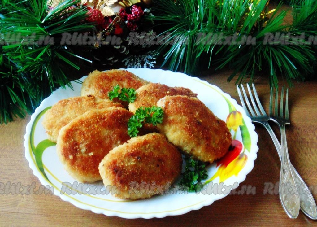 рецепт куриные котлеты со сливками рецепт