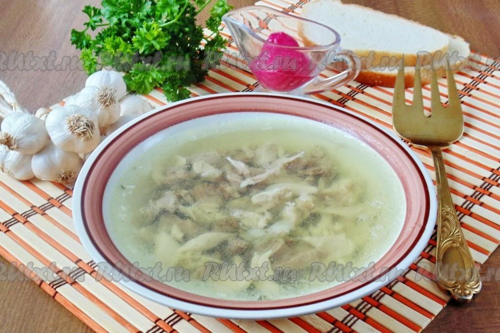 рецепт приготовления холодца из курицы с желатином видео